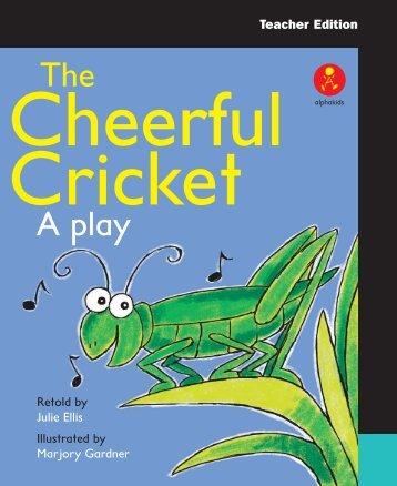 The Cheerful Cricket