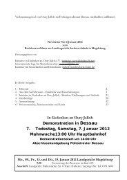 Newsletter Nr. 3 zum Revisionsverfahren am ... - No Racism