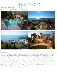 Villa Kim, Dubrovnik Riviera - CroatiaGems