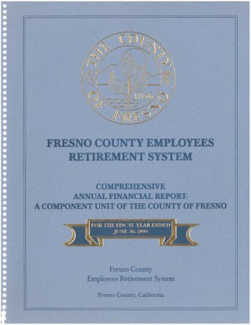 For the Year Ending June 30, 1998 - Fresno County