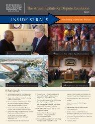 Inside Straus Newsletter - Pepperdine University School of Law