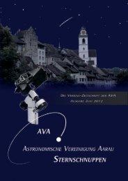 Sternschuppen-Ausgabe Juni 2012 - Astronomische Vereinigung ...