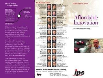 Affordable Innovation