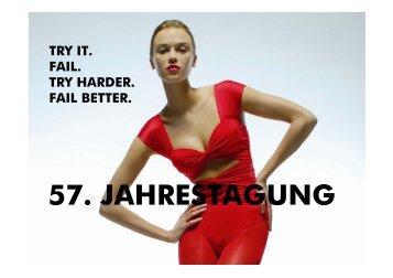 57. JAHRESTAGUNG - Die Textilindustrie