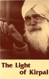 The Light of Kirpal - Kirpal Singh