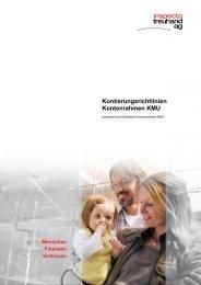 Kontierungsrichtlinien Kontenrahmen KMU - Inspecta Treuhand AG