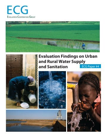 Evaluation Findings on Urban and Rural Water Supply and Sanitation