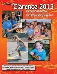 2013 Summer Brochure - Erie County