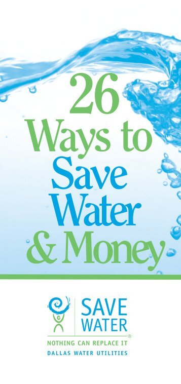 10 free magazines from savedallaswater com for Top 10 ways to conserve water