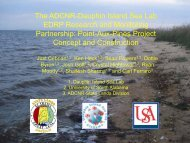 Alabama EDRP Coastal Habitat Restoration Program