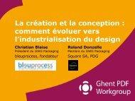 comment évoluer vers l'industrialisation du design - Industrie.com