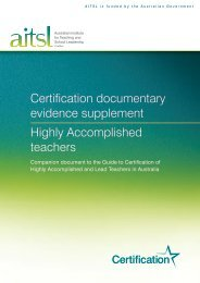 Certification documentary evidence supplement Highly ...