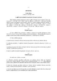 Vyhláška č. 309/2005 Sb.