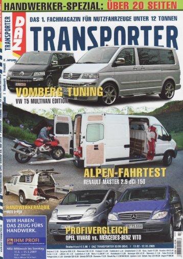 Vomberg veredelt seit Jahren den VW T5 Multivan - Vomberg GmbH