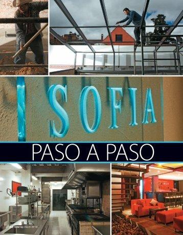 INFORME restaurantes sofia18.indd - Catering.com.co