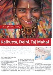 Kalkutta, Delhi, Taj Mahal - tramex