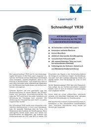 Schneidkopf YR30 - ARNEZEDER
