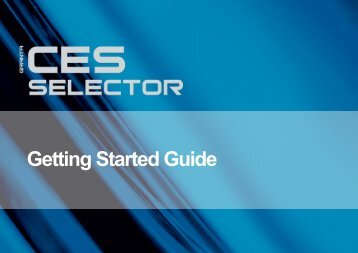 Getting Started with CES Selector - Granta Design