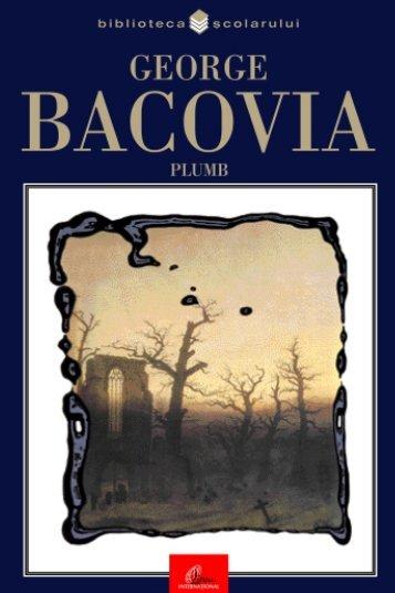 Bacovia George – Plumb - Soroca