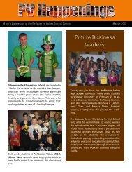 PV Happenings - March 2011 - Perkiomen Valley School District