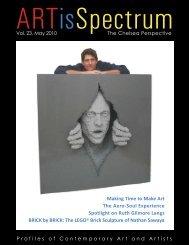Profiles of Contemporary Art and Artists - Artisspectrum