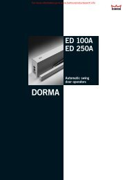 ED 100A ED 250A - BD Online Product Search