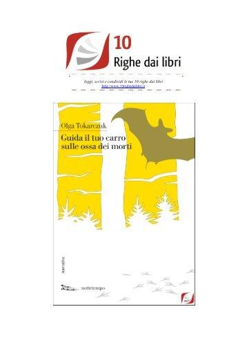 Page 1 leggi, scrivi e condividi le tue 10 righe dai libri http://www ...