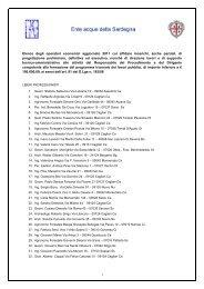 Elenco degli operatori economici aggiornato 2011