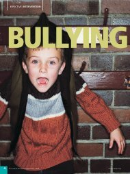 Bullying at School: Strategies for Intervention - National Association ...