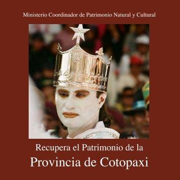 Provincia de Cotopaxi - Arqueología Ecuatoriana