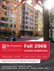 Undergraduate Graduate - Northeastern University College of ...