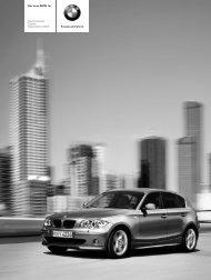 Freude am Fahren Der neue BMW 1er Die Preisliste ... - Lexsystems