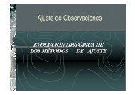 Ajuste de Observaciones - ETSI Topografia (UPM)