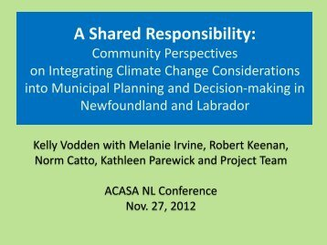 Dr. Kelly Vodden Community Perspective.pdf - Atlantic Climate ...