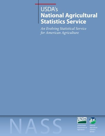 An Evolving Statistical Service for American Agriculture - National ...