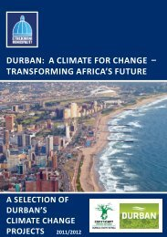 Durban: a climate for change – TRANSFORMING AFRICA'S ... - MILE