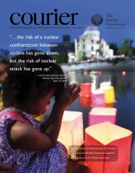 Download Summer Issue - The Stanley Foundation
