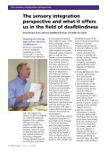 From isolation to inclusion - Deafblind International - Page 4