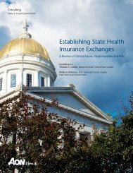 Aon Hewitt_State Exchanges.pdf - National Association of State ...