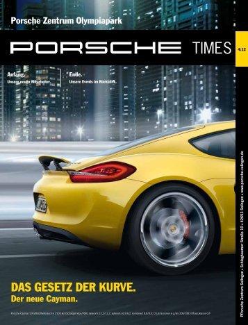 DAS GESETZ DER KURVE. DAS GESETZ DER KURVE. - Porsche