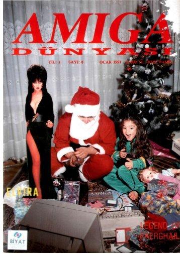 Amiga Dunyasi - Sayi 08 (Ocak 1991).pdf - Retro Dergi