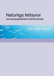 Naturliga fettsyror - Scientific Communication AB