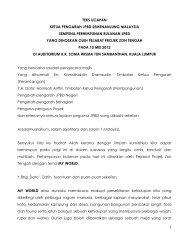 1 teks ucapan ketua pengarah jpbd semenanjung malaysia ...