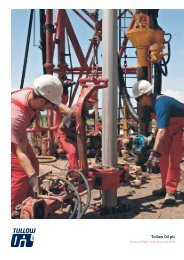 Download the Annual Report PDF (2.75MB) - Tullow Oil plc