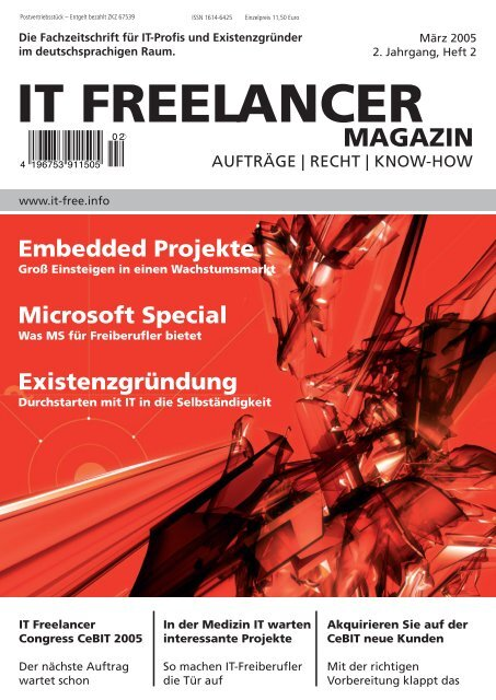 IT Freelancer Magazin Nr. 2/2005
