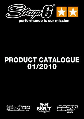 PRODUCT CATALOGUE 01/2010 - Stage6