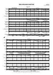 New Orleans function score sib3 10 piece - Musikverlag Frank
