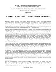 NONPOINT SOURCE POLLUTION CONTROL MEASURES