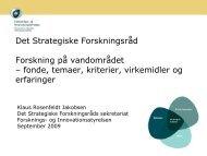 Vand som ressource og element i naturens kredsløb (IAFP)