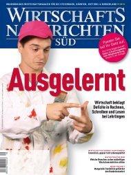 Ausgabe 09/2012 Wirtschaftsnachrichten Süd